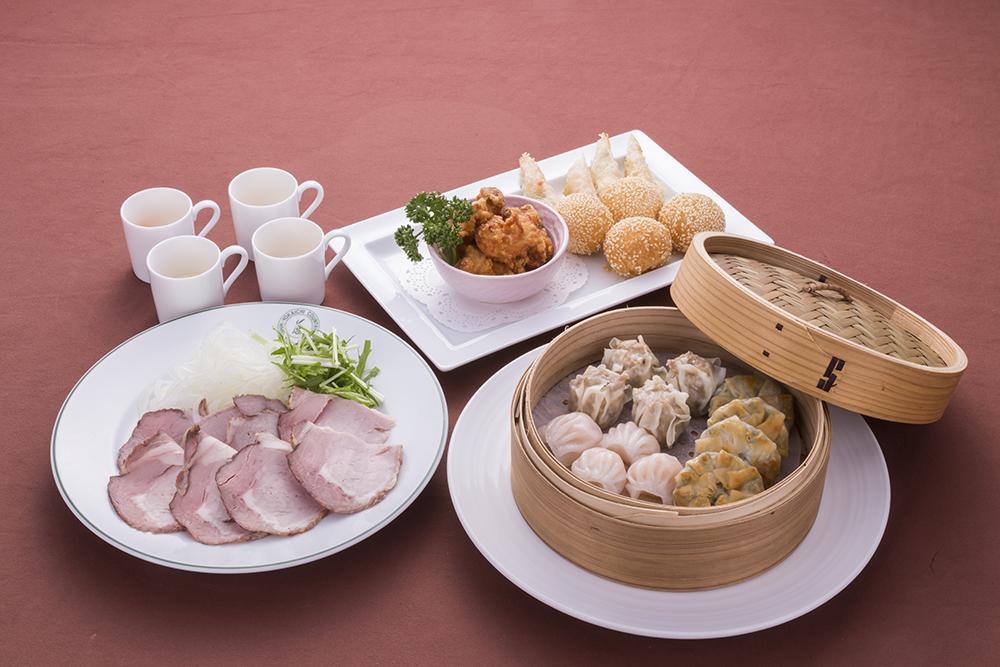中華大皿盛り